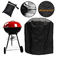 Fellie Cover Waterproof Barbecue Cover 30-Inch Kettle BBQ