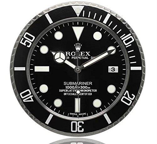 Fir submariner rolex orologio da parete luminosa