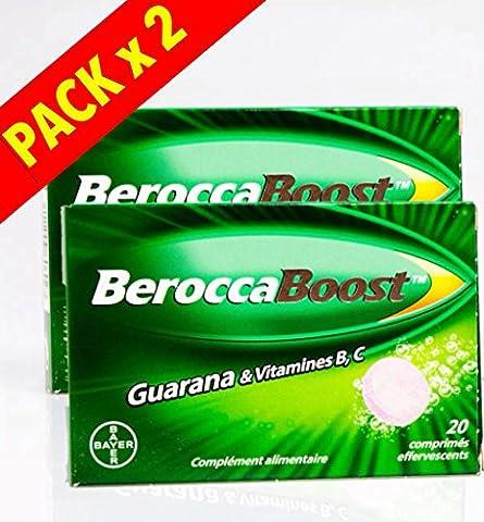 Berocca Boost Effervescents 2x20 Comprimés