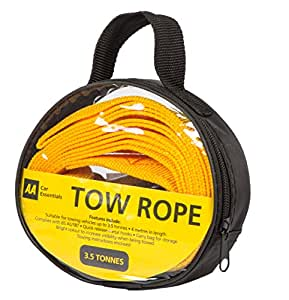 AA Strap-Style Tow Rope, 3.5 tonnes
