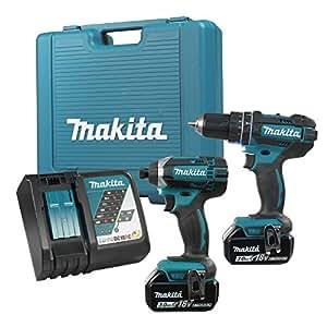makita nouveau pack lxt211 perceuse/visseuse à chocs 18v