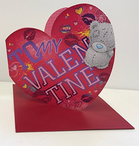 To My Valentine Sweet Me to You Die Cut Herz Valentine 's Day neuen Karte