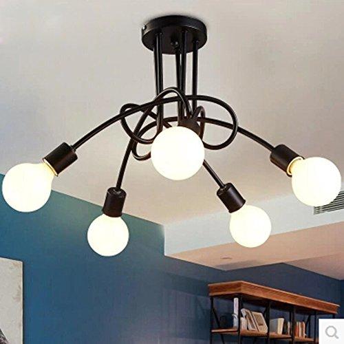 Hoobor House il design della camera dei bambini la luce della plafoniera 3/5 testa luce a soffitto, Home Decor, 5
