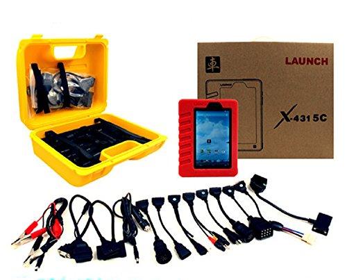 Original X431 Launch 5c misma función que el lanzamiento X431 V Pro Soporte en línea de actualización + Multi-idioma Wifi / Bluetooth X431 5c (2)