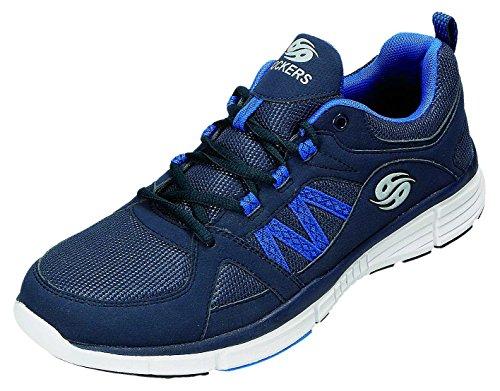 Dockers , Chaussures de ville à lacets pour homme bleu bleu marine Bleu Marine