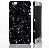 Mármol Piedra Natural textura Gloss Phone Cases para iPhone modelos. Amortiguador anticaídas diseñado Designs by icasedesigner, plástico, 9: Black Marble with White Veins, iPhone 5C - Slim Case