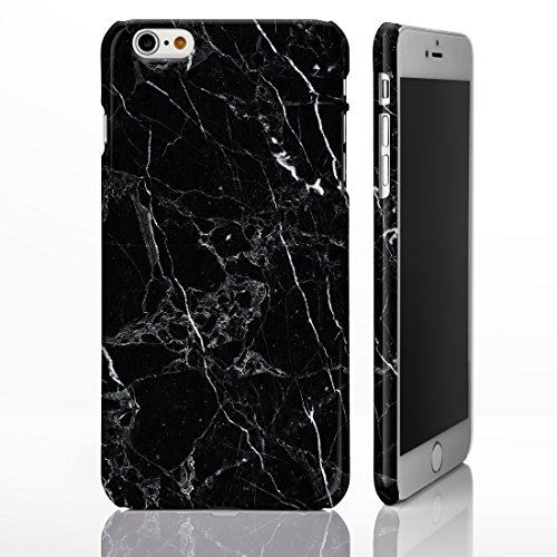 marble-natural-stone-textured-pattern-gloss-case-for-iphone-6-6s-marble-9-black-marble-with-white-ve