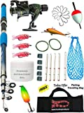 #9: Fishing Spinning Rod,Reel,Accessories Complete Kit (7 Feet)