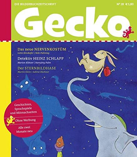Gecko Kinderzeitschrift Band 28: Die Bilderbuch-Zeitschrift
