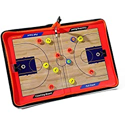 Katech portátil baloncesto tablero de entrenamiento de baloncesto entrenador tácticas borrable pizarra magnética Gran baloncesto equipo de capacitación