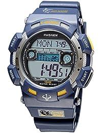 Reloj de los deportes al aire libre / reloj del estudiante / reloj de los hombres / reloj electrónico / reloj impermeable multi-funcional , deep blue