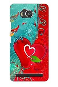 TEMPER String Love 3D Back Cover for Lenovo A7700