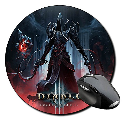Preisvergleich Produktbild Diablo III 3 Reaper Of Souls Mauspad Round Mousepad PC
