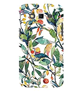 ifasho Designer Back Case Cover for Samsung Galaxy Grand I9082 :: Samsung Galaxy Grand Z I9082Z :: Samsung Galaxy Grand Duos I9080 I9082 (Fruits And Leaves Drawings Nagoya Fruits Wine Fruits Up)