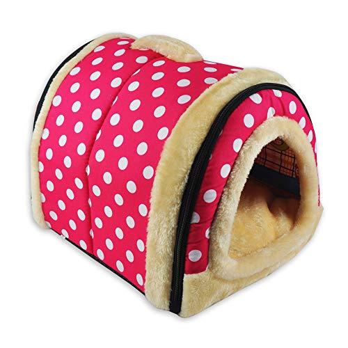 ANPI 2 en 1 Casa y Sofá para Mascotas, Lavable a Máquina...