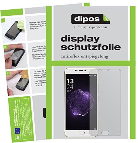 dipos I 2X Schutzfolie matt passend für Allview X4 Soul Style Folie Bildschirmschutzfolie