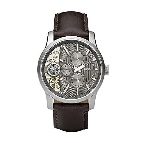 Fossil Herren-Uhren ME1098 (Herren Fossil Skelett)
