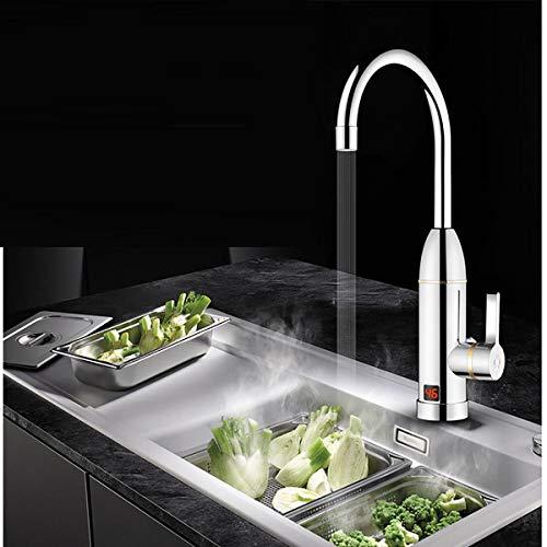Generic Kit für Home for Ho Heizung Instant for Home Elektrischer Wasserhahn Instant für Badezimmer, Küche, Boot, 230 V