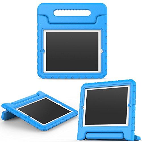MoKo Hülle für iPad 2/3 / 4 - Superleicht Eva Kids Shock Proof Cover Stoßfest Kindgerechte Schutzhülle für Apple iPad 2/3 / 4 9.7 Zoll Tablet-PC, Blau