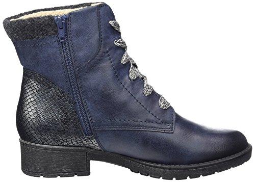 Softline Damen 25261 Stivali Da Combattimento Blau (oceano)