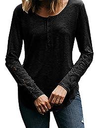 Mujer blusa Otoño Bohemian Imprimir playa estilo suelto y suave casual moda ropa de calle,Sonnena Las mujeres Blusa tops de Boho Floral Batwing cintura alta fiesta noche playa Otoño