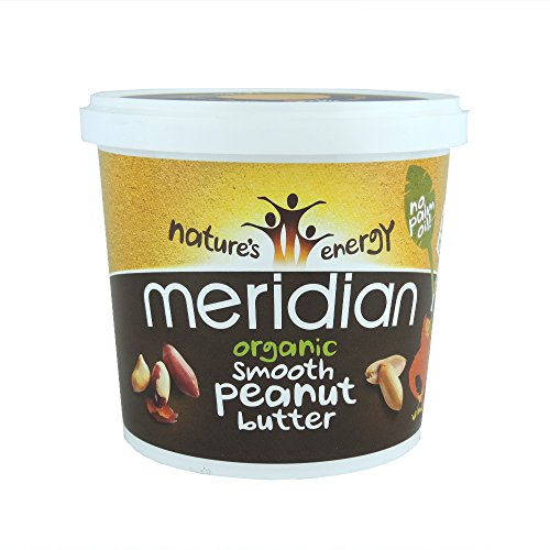 Meridian - Organic Smooth Peanut Butter - 1Kg (Pack of 3)