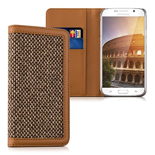kalibri-wallet-case-cover-donna-for-samsung-galaxy-s6-s6-duos-cover-flip-tweed-artificial-leather-ba