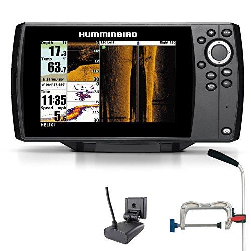 Humminbird Helix 7 SI GPS Side Imaging Echolot Seekartenplotter Combo Portabel Profi
