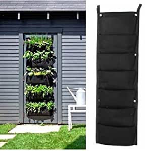 7 f cher f r drinnen und drau en zum aufh ngen f r pflanzen beutel t ten pflanzgef e. Black Bedroom Furniture Sets. Home Design Ideas