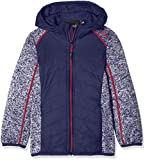 CMP Mädchen Girl FIX Hood HYBRID Jacket Jacke, Inchiostro, 176