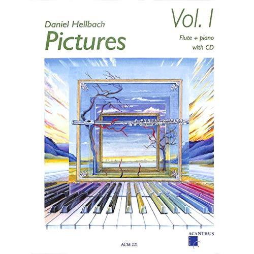 PICTURES Vol. 1 mit CD - Querflöte und Klavier