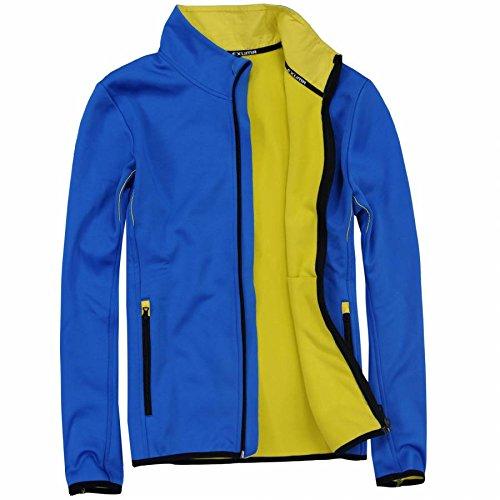 Peut également eXUMA veste softshell pour homme Bleu - Bleu roi