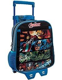 Marvel Avengers Mochila Infantil, 6.44 Litros, Color Negro