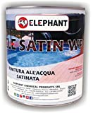 ELE SATIN WP | Vernice finitura trasparente per legno ad acqua semilucida satinata (750ml)