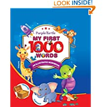 Purple Turtle - My First 1000 Words (An Illustrated Word Book)