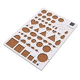 Pinhan Crafts Papier Crimper Clip Art Werkzeug Kunst Werkzeug Papier-Schneiden Vorlage DIY Spezialpapier Crimper