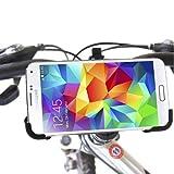 iprotect Fahrrad und Motorrad Halterung Samsung Galaxy S5 Fahrradhalterung für Den Lenker