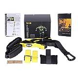 GHB Attrezzo Allenamento Suspension Trainer per Fitness a Casa, all'aperto, in Palestra ecc, Adulto Unisex