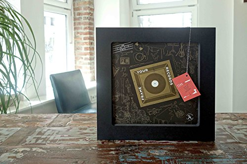 Frame Your Records – Typ: Jimmy Cage – Schallplattenregal - 2