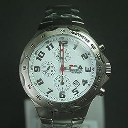 Fila Men's Quartz Watch with Chronograph Quartz Stainless Steel FA079533
