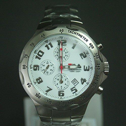 Fila uomo-orologio Cronografo in acciaio inox luenette FA0795-33