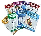 Edicards Cuadernos de Ejercicios Gimnasia Mental Marca 2 Unidades. Cálculo + Lógica.