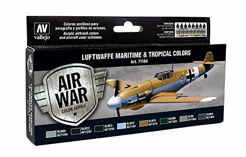 Model Air Set Luftwaffe-Maritime tropicale e colori