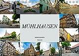 Mühlhausen Impressionen (Tischkalender 2019 DIN A5 quer): Zu Besuch in der wunderschünen Stadt Mühlhausen (Monatskalender, 14 Seiten ) (CALVENDO Orte)