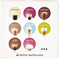 Dolce Gusto Cafe Au Lait Decaffeinatao Decaffeinated Coffee Pods 1 Box