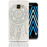 Coque Samsung A5 2016, Lincivius®, Housse Samsung Galaxy A5 2016 Coque Transparente Silicone Gel Antichoc Design Original Motif Catch Dream Accessoires Etui Protection