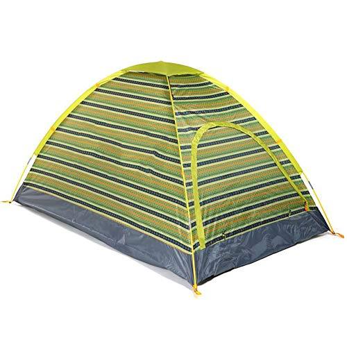 TonXiory Outdoor Zelt,Paare, Familien-Campingplatz wandern Reisen regendichte Sonnenschutz Zelt,Sonne-unterstände mit einfachem Setup-grün 200x135x110cm(79x53x43inch)
