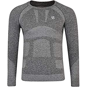 Dare 2b Herren In The Zone Ergonomic Body Map Fit Fast Wicking & Quick Drying Anti-Bacterial Performance Base Layer Set with Seam Smart Seamless Technology Baselayer
