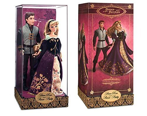 Aurora and Prince Phillip Doll Set Disney Fairytale Designer Collection Sleeping Beauty by Disney