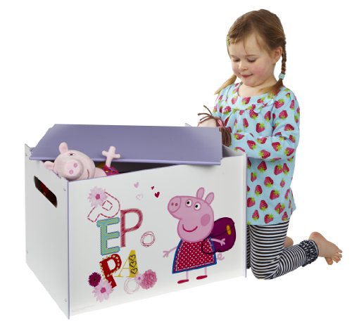 Peppa Pig Toy Box by HelloHome